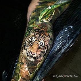 Tatuaże Na Nodze Wzory I Galeria Strona 26 Dziarowniapl