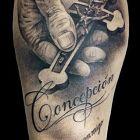 Tatuaż różaniec