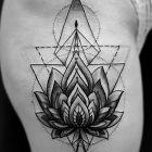 Kwiat lotosu geometria