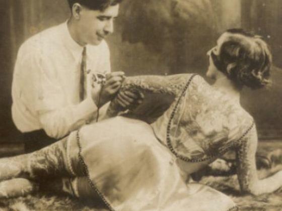 Maud Wagner pierwsza kobieta z tatuażami