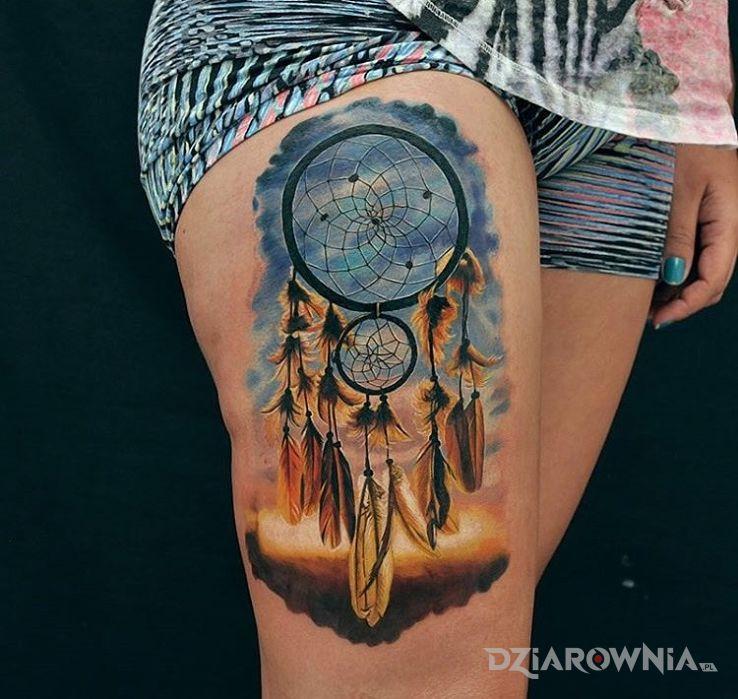 Tatuaż Lapacz Snow Autor Sajmon Dziarowniapl