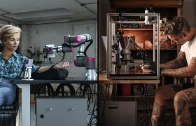 Pierwszy na świecie tatuaż wykonany na odległość