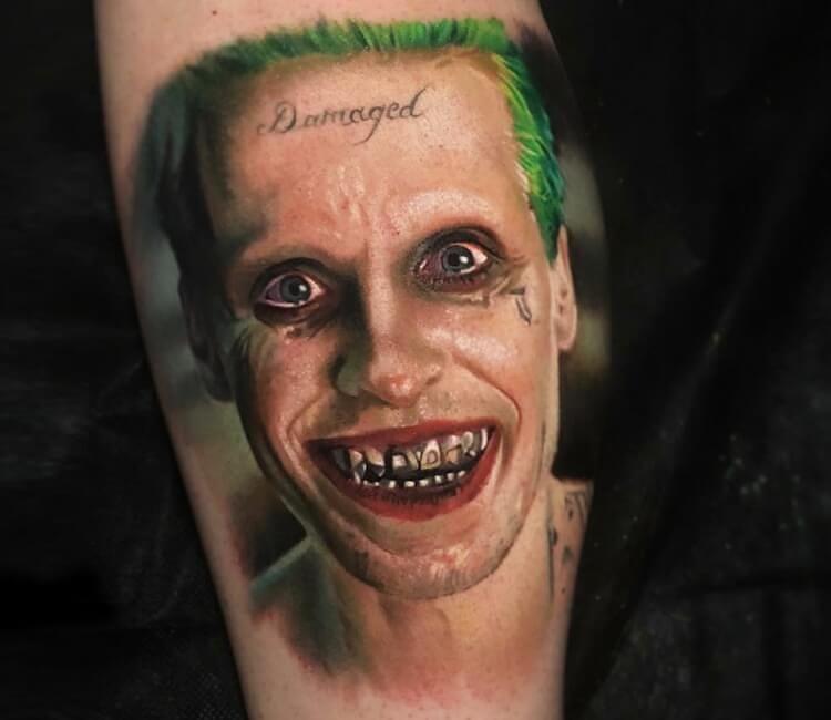 tatuaż  joker leto