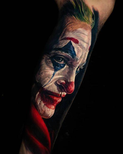 tatuaż  joker Phoenix