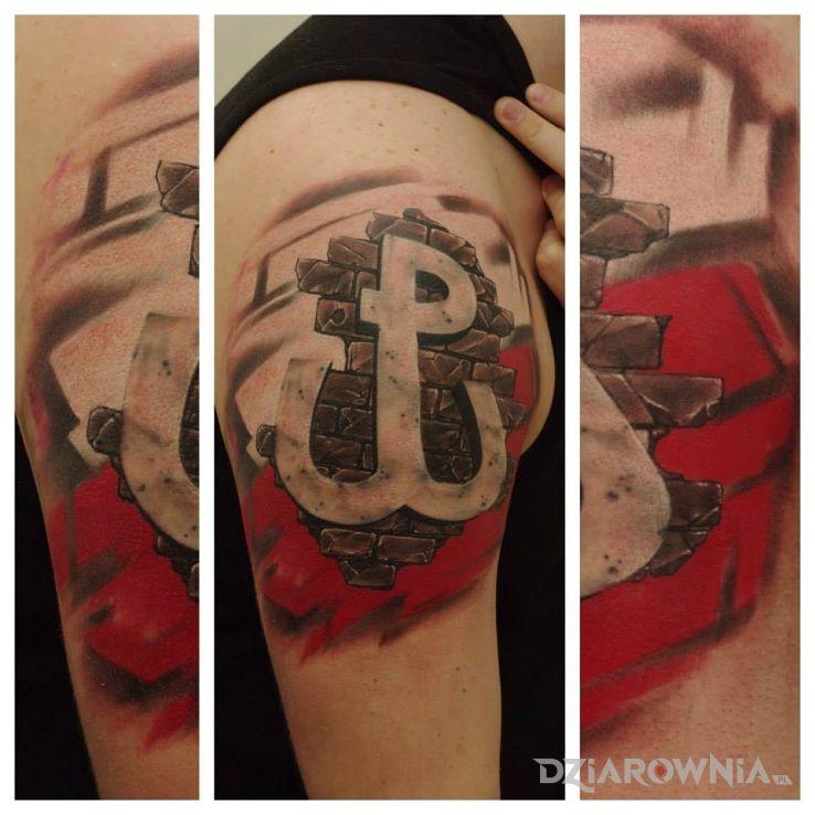 Tatuaż wzór 3d - 3D