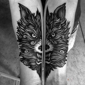 Wściekły wilk