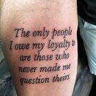 Dla kogo jestem lojalny