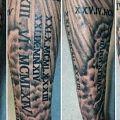 Pomysł na tatuaż - Problem z urozmaiceniem tatuażu na ręce