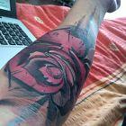 Abstrakt róża 2