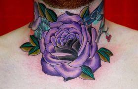 Znaczenie róży w tatuażu