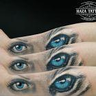 Kobieta tygrys / blizna