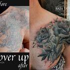 Róże kwiaty cover up blizny