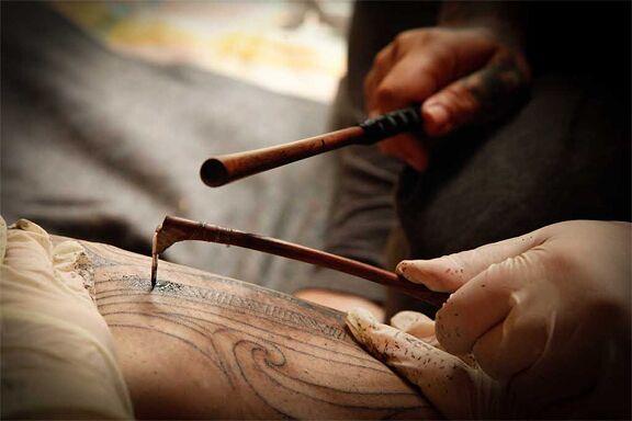 narzędzia do tatuażu ta moko