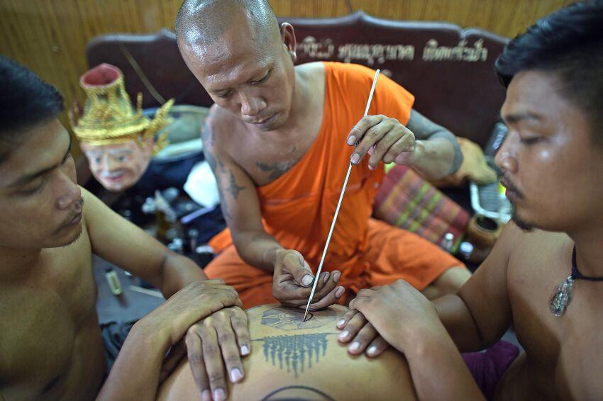 thai sak tatuaże w tajlandii