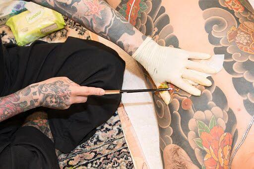 japońskie tebori do tatuażu