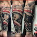 Wycena tatuażu - Wycena tatuazu patriotycznego