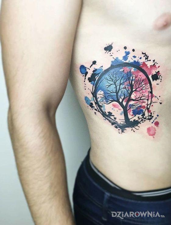 Tatuaż Drzewo życia Autor Leon26 Dziarowniapl