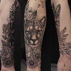 Puma floral full