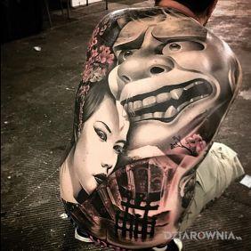 Japoński tatuaż