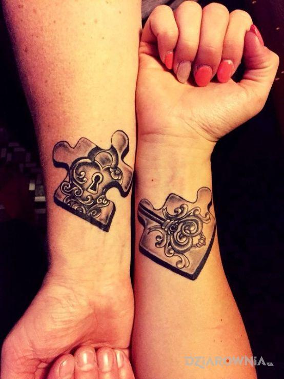 Tatuaż Puzzle Autor Bambaryniarz Dziarowniapl
