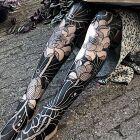 Czarne nóżki