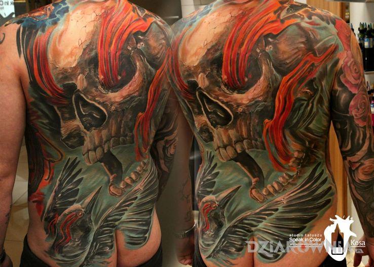 Tatuaż kosa - zwierzęta