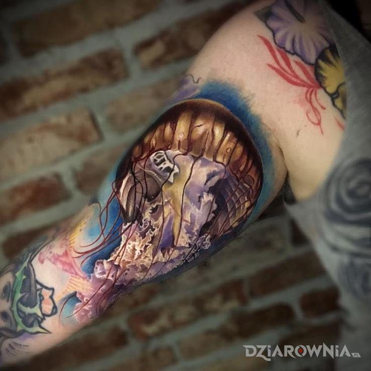 Tatuaż meduza 3d - 3D
