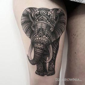 Słoń z ornamentów