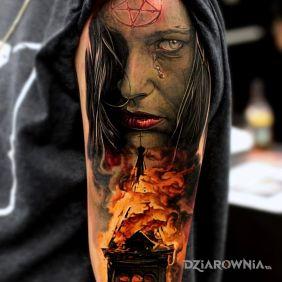 Diabelski tatuaż
