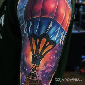 Balon w kosmosie