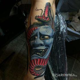 Maska demona