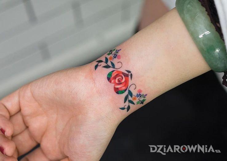 Tatuaż Bransoletka Autor Fikoł Dziarowniapl
