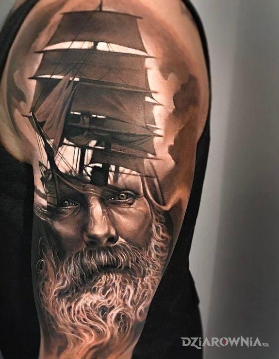 Tatuaż żeglarz - postacie