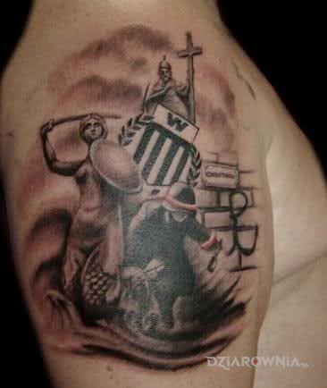 Tatuaż warszawa - patriotyczne