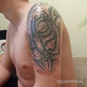 Tatuaże Tribale Wzory I Galeria Dziarowniapl