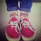 Napis na nodze