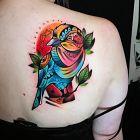 Kolorowa ptaszyna