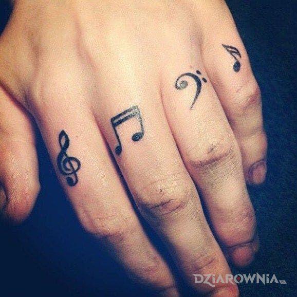 Tatuaż Nutki Autor Baranina Dziarowniapl