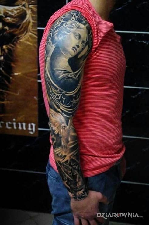 Tatuaż rzeźba - 3D