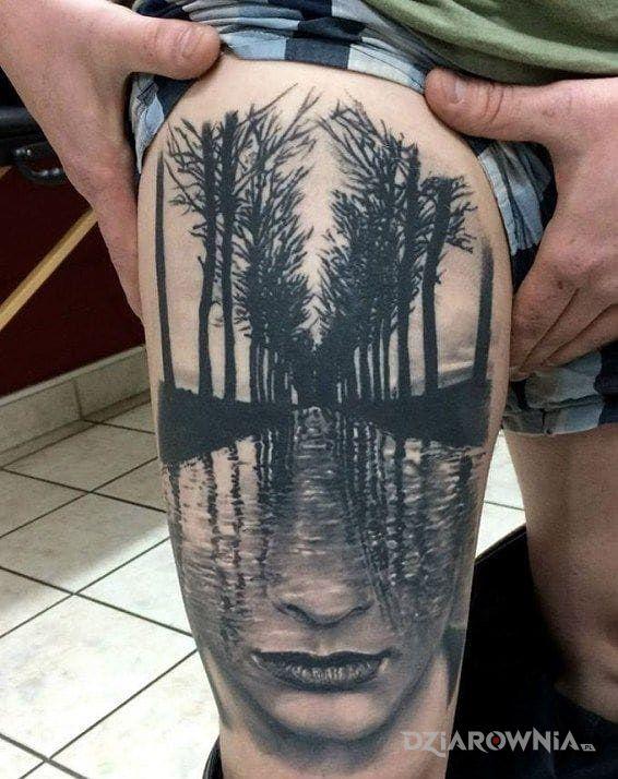 Tatuaż 3d Autor Mysław Dziarowniapl