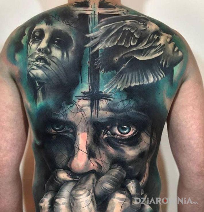 Tatuaż Usta Zamknięte Autor Testoviron Dziarowniapl