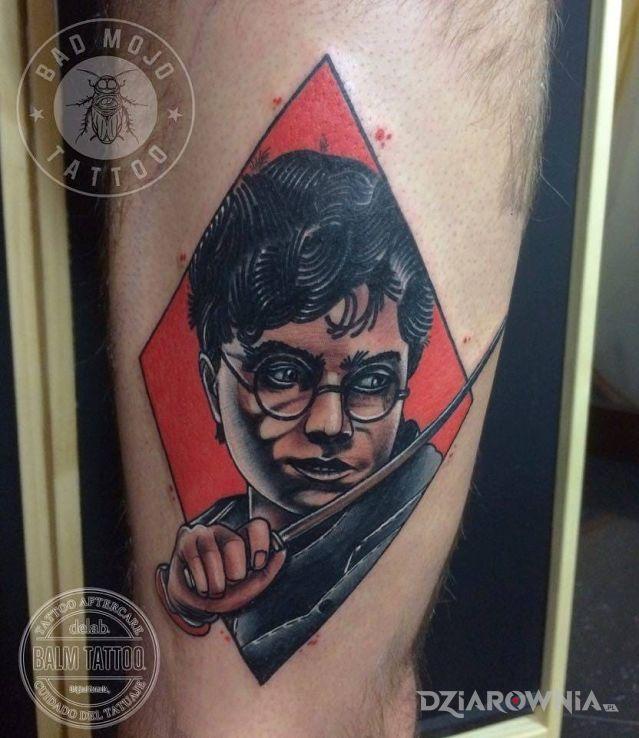 Tatuaż Harry Potter Studio Bad Mojo Tattoo Lublin