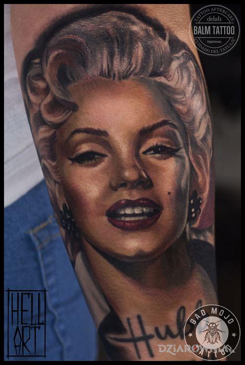 Tatuaż Praca Eleny Z Bad Mojo Tattoo Gdańsk Autor Bad