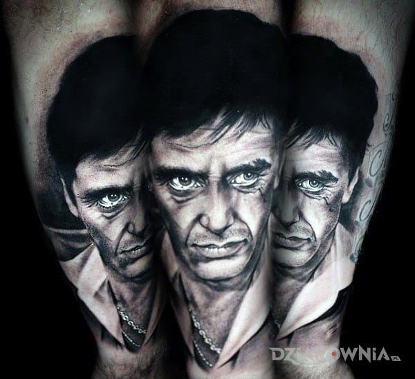 Tatuaż tonny montana - twarze