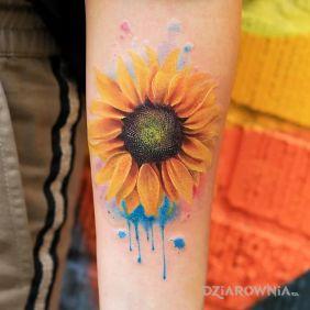 Tatuaże Kwiaty Wzory I Galeria Strona 21 Dziarowniapl