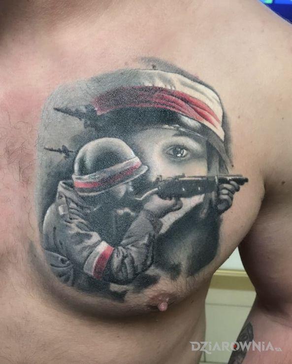 Tatuaż Patriotyczny Tatuaż Autor Bghtattoostudio