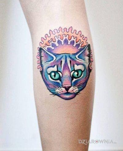 Tatuaż koteczek - zwierzęta