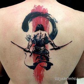 Tatuaże japońskie, wojownik, dziara dla mężczyzn