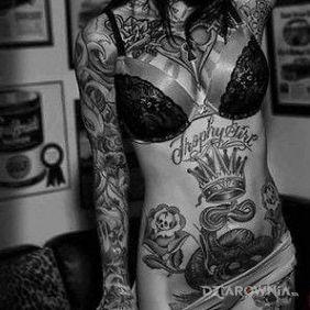 Ciało w tatuażach