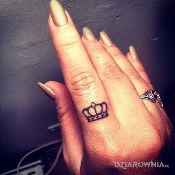 Tatuaż Korona Autor Shadow Angel Dziarowniapl